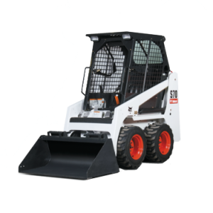 Vermietung Erdbaumaschinen Kompaktlader Bobcat S70 ZWO Baumaschinen-Service GmbH