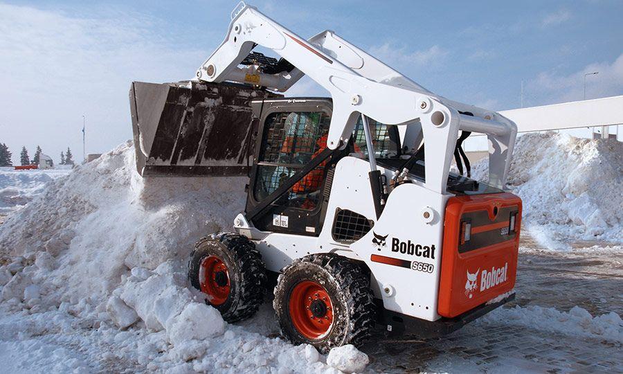 Vermietung Erdbaumaschinen Kompaktlader Bobcat S650 ZWO Baumaschinen-Service GmbH