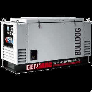 Vermietung Energie Baustrom Event Tragbarer Stromerzeuger GENMAC BULLDOG_ZWO Baumaschinen Service GmbH