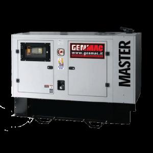 Vermietung Energie Baustrom Event Stromerzeuger GENMAC MASTER_ZWO Baumaschinen Service GmbH