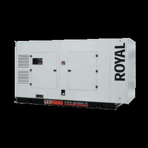 Vermietung Energie Baustrom Event Stromerzeuger GENMAC ROYAL_ZWO Baumaschinen Service GmbH