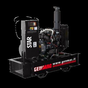 Vermietung Energie Baustrom Event Stromerzeuger GENMAC STAR_ZWO Baumaschinen Service GmbH