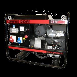 Vermietung Energie Baustrom Event Tragbarer Stromerzeuger GENMAC Combiplus 12000RE_ZWO Baumaschinen Service GmbH