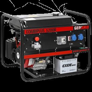 Vermietung Energie Baustrom Event Tragbarer Stromerzeuger GENMAC Combiplus_ZWO Baumaschinen Service GmbH