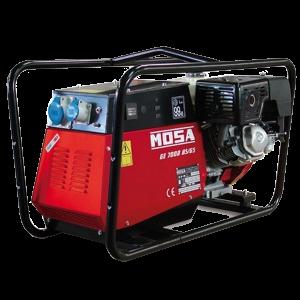 Vermietung Energie Baustrom Event Tragbarer Stromerzeuger MOSA GE7000BS GS_ZWO Baumaschinen Service GmbH