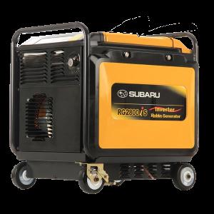 Vermietung Energie Baustrom Event Tragbarer Stromerzeuger GENMAC RG2800IS_ZWO Baumaschinen Service GmbH