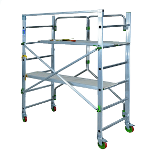 Vermietung Alu Rollgerüste FACALSCALE CAPO1_ZWO Baumaschinen Service GmbH