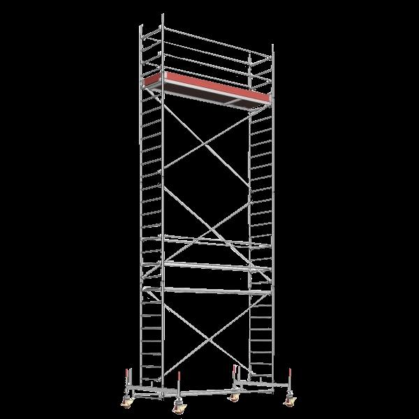 Vermietung Alu-Rollgerüste LAYHER UNI STANDARD 1106_ZWO Baumaschinen Service GmbH