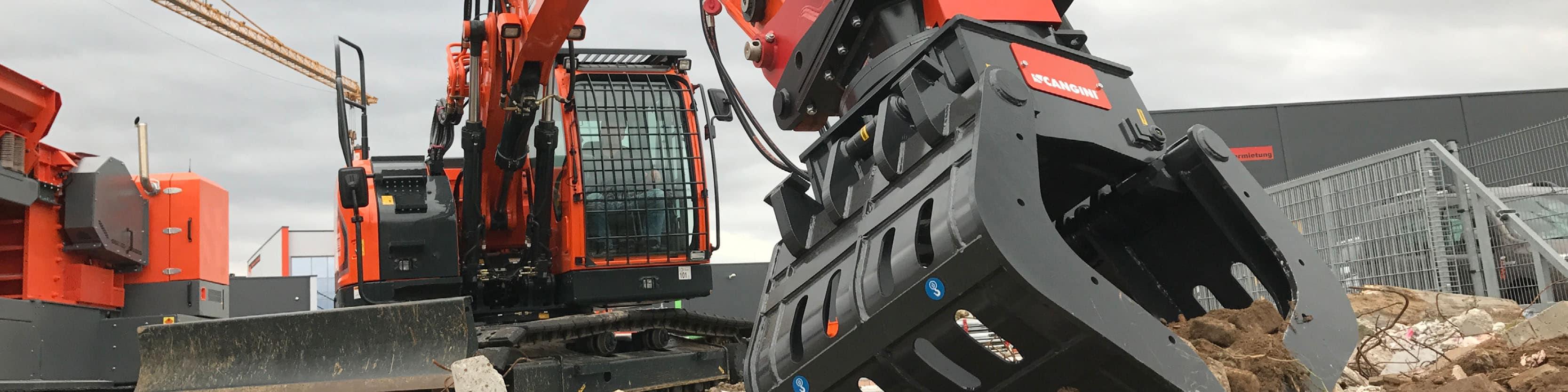 Vermietung Erdbaumaschinen Bagger Radlader Schwenklader Dumper ZWO-Baumaschinen-Service GmbH
