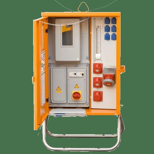 Vermietung Energie Baustrom Verteiler Baustromverteiler_AVEV63_2116_ZWO Baumaschinen Service GmbH