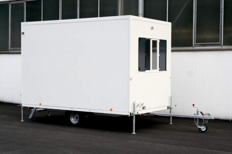 Vermietung Container Bauwagen Schnellläufer WEIRO Cubic ZWO Baumaschinen Service GmbH