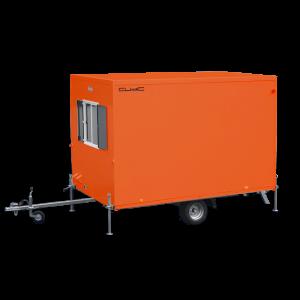 Vermietung Container Bauwagen Schnellläufer Cubic WEIRO ZWO Baumaschinen Service GmbH