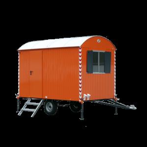 Vermietung Container Bauwagen Langsamläufer WEIRO Sinus ZWO Baumaschinen Service GmbH