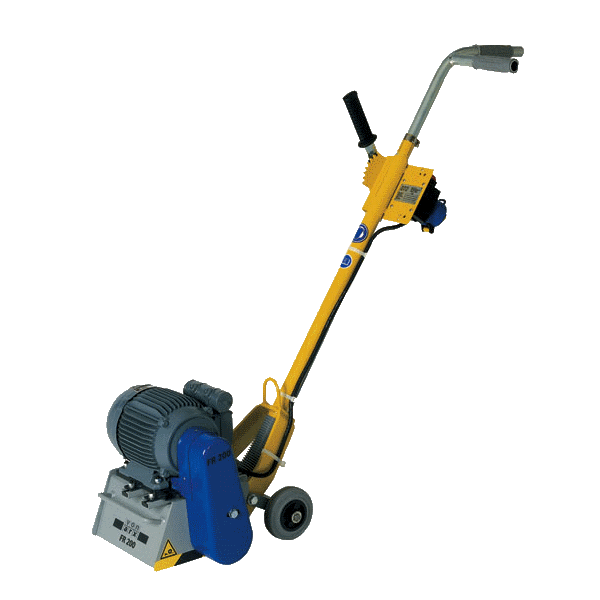 Vermietung Bodenbearbeitungsmaschinen Beton-Estrichfräse FR200 VONARX_ZWO Baumaschinen Service GmbH