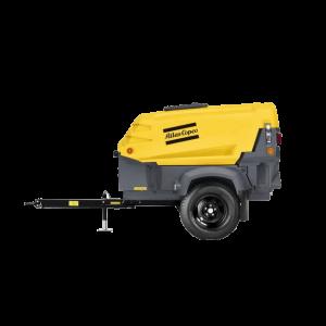 Vermietung Drucklufttechnik Baukompressor Dieselkompressor ATLAS COPCO XAS36_ZWO Baumaschinen Service GmbH