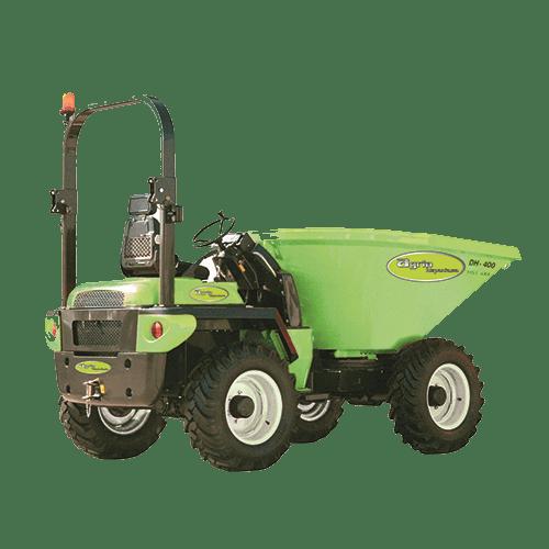 Vermietung Erdbaumaschinen Dumper Agria AHG400 Drehmulde ZWO Baumaschinen-Service GmbH