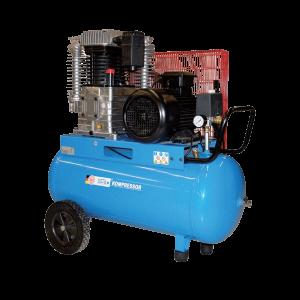 Vermietung Drucklufttechnik Baukompressor Elektrokompressor GÜDE 750 Liter_ZWO Baumaschinen Service GmbH