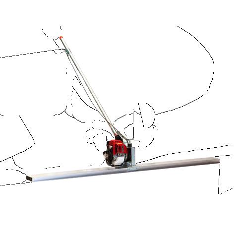Vermietung Betonbearbeitung Glättbohle LIEVERS HAL200_ZWO Baumaschinen Service GmbH