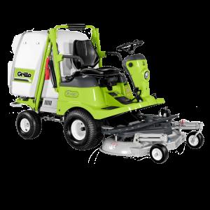 Vermietung Gartenmaschinen Großflächenmäher Aufsitzmäher GRILLO FD450_ZWO Baumaschinen-Service GmbH