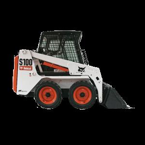 Vermietung Erdbaumaschinen Kompaktlader Bobcat S100 ZWO Baumaschinen-Service GmbH