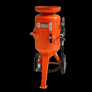 Vermietung Drucklufttechnik Sandstrahlanlage CB115 CB SABBIATRICI_ZWO Baumaschinen Service GmbH