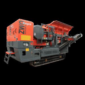 Raupenmobile Brechanlage RA7007 ZWO Baumaschinen Service GmbH
