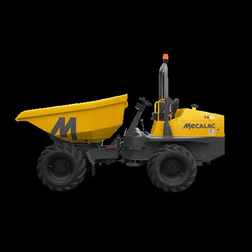 Mecalac Baustellenkipper Raddumper Dumper TA6_ZWO Baumaschinen-Service GmbH
